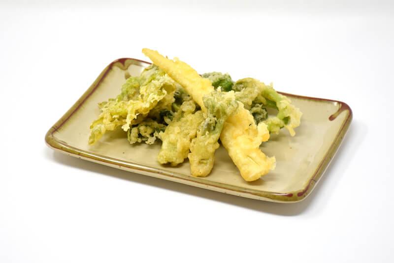 季節の天ぷら盛の写真